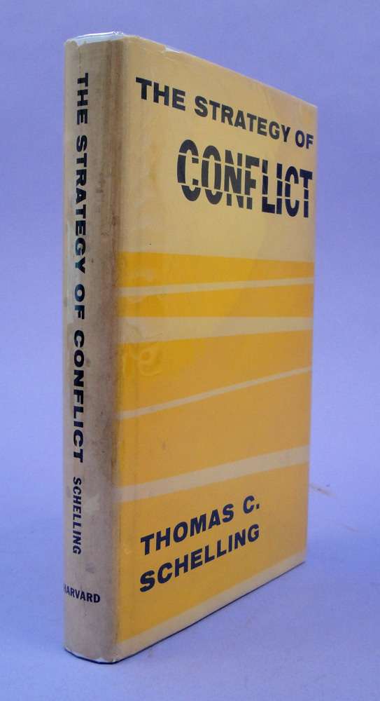The strategy of conflict. Thomas C. Schelling.
