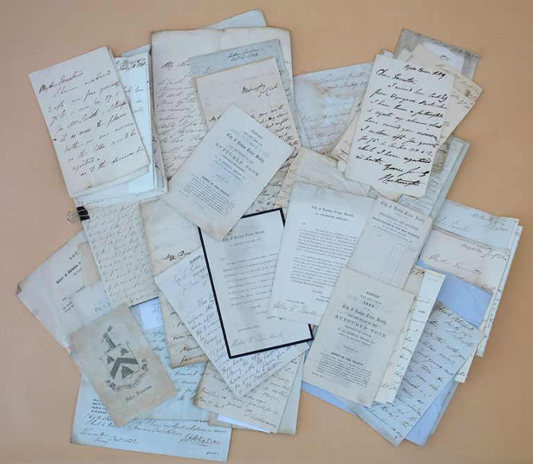 Archive of 65 documents. John Colley Taunton, City of London Truss Society.