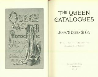 The Queen Catalogues. 2-volume set.; Warner, Deborah Jean, editor. James Queen