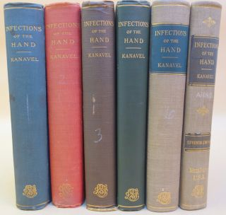 Infections of the hand. Set of the first six editions.