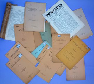 Collection of 29 offprints, mostly on liquid crystals. ex-libris Becquerel and von Karman. Otto...