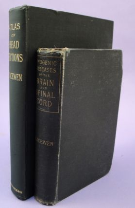 Pyogenic infective diseases of the brain and spinal cord + Atlas of head sections.