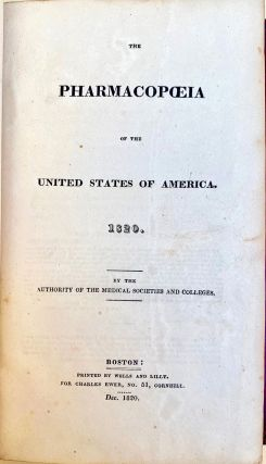 The pharmacopoeia of the United States of America. United States