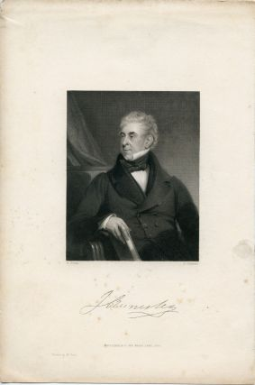 Engraved Portrait by K. Cochran after H. Room. J. Annisley