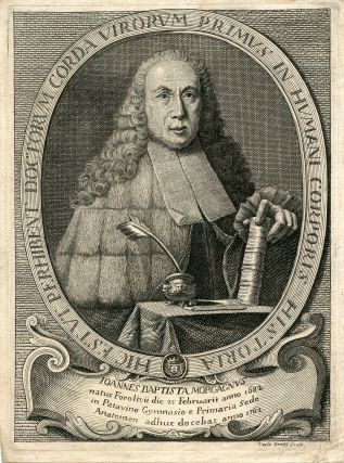 Engraved Portrait by Caxlo Oraty. Joannes Baptista