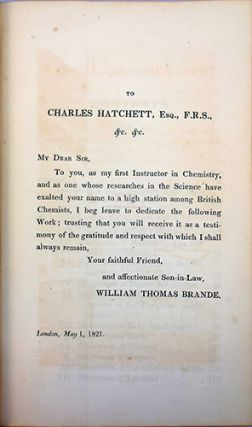A manual of chemistry; containing the principal facts of the science