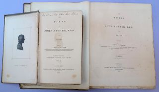 The works of . . . edited by James F. Palmer. 4 vols. plus atlas. John Hunter.
