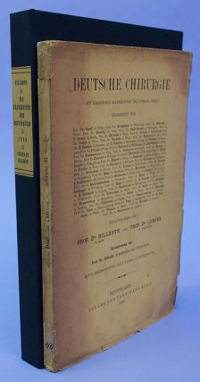 Die Krankheiten der Brustdrüsen. Billroth's personal copy, signed and dated.