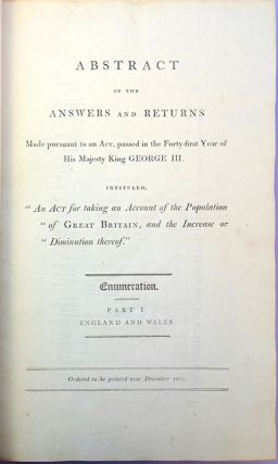 Abstract of the answers and returns made pursuant to an act, passed in the forty-first year of...