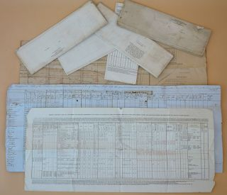 Archive of 38 documents, including letters, manuscript charts, printed documents etc., relating to the Moorsom System of calculating cargo capacity in ships and the British Association for the Advancement of Science's efforts to improve it.