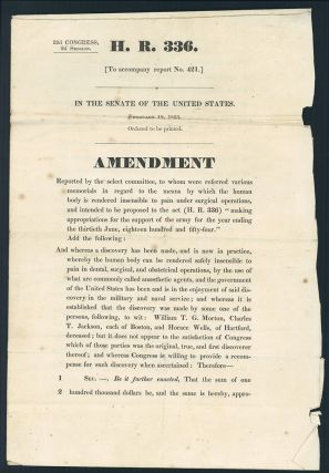 H. R. 336 [To accompany report no. 421.]. 2nd Session United States. Senate. 32nd Congress.