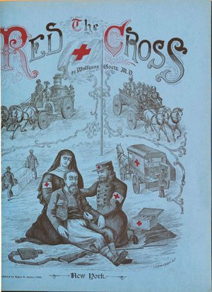 The Red Cross. In presentation binding.
