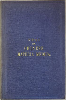 Notes on Chinese materia medica