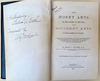 The honey ants of the Garden of the Gods and the occident ants of the American plains. Henry C....